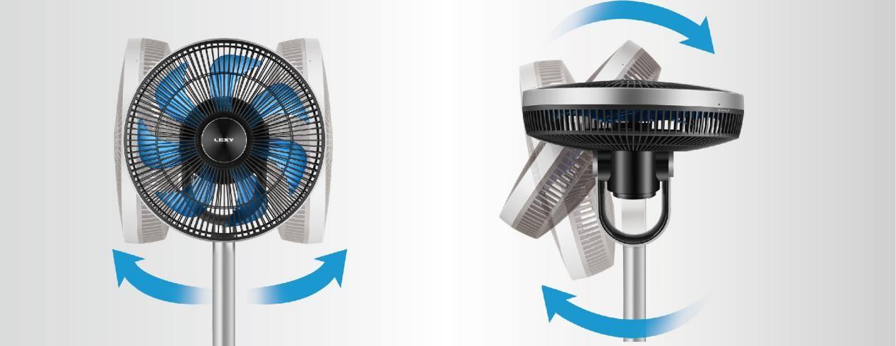 选莱克空气调节扇,带走这个夏天一切与热有关的烦恼
