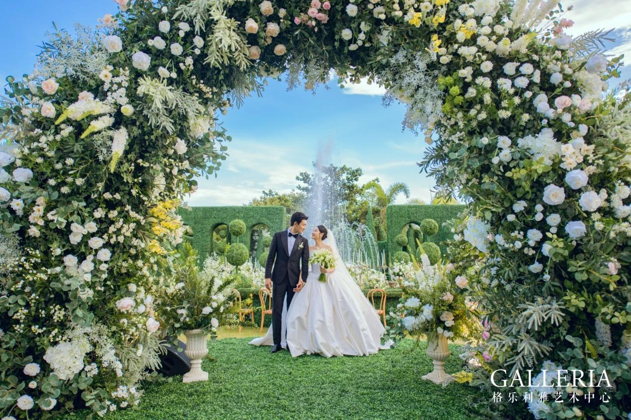 王彦霖亲选,格乐利雅艺术中心倾力打造明星海岛婚礼
