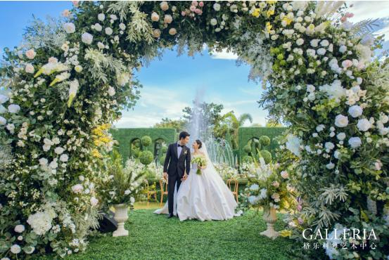 美的天花板!格乐利雅打造圈内人王彦霖海岛婚礼
