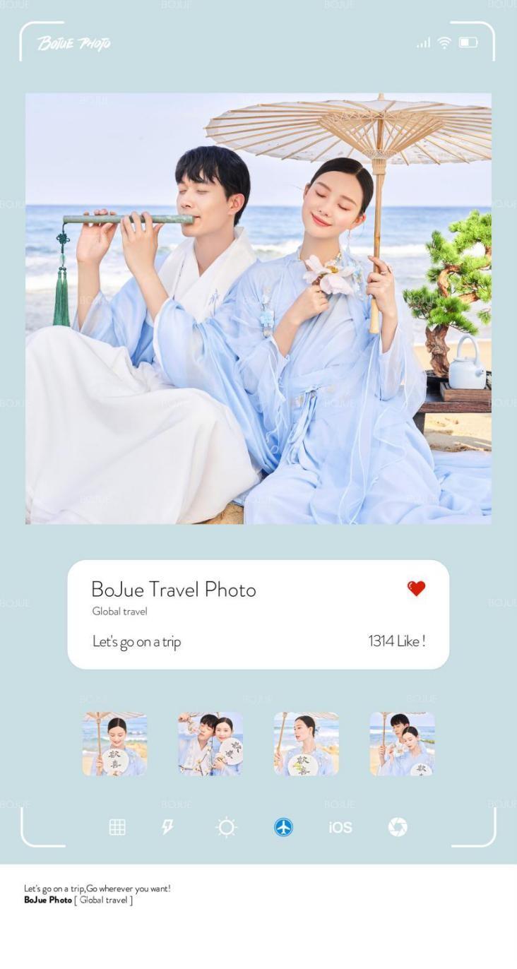 铂爵旅拍:被朋友圈夸爆的婚纱照是这样拍出来的