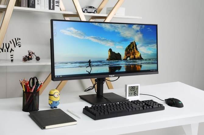 开启游戏新视界 海兰神韵W30超宽屏一体机电脑