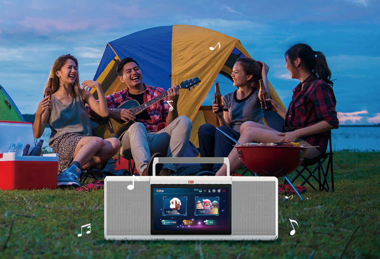 户外娱乐新方式,音创打造便携移动KTV