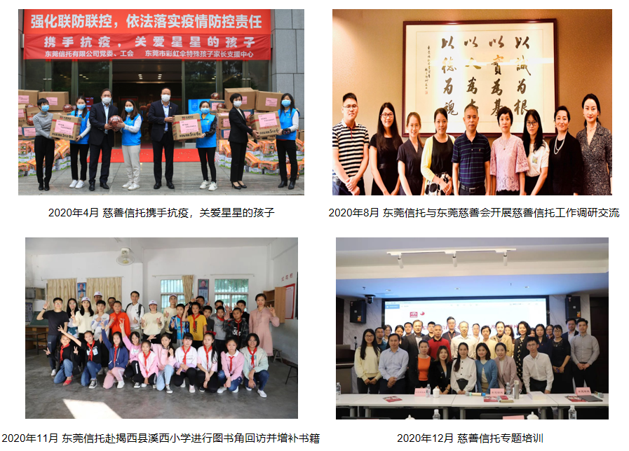 东莞信托:发挥信托制度优势,助力慈善信托业务发展