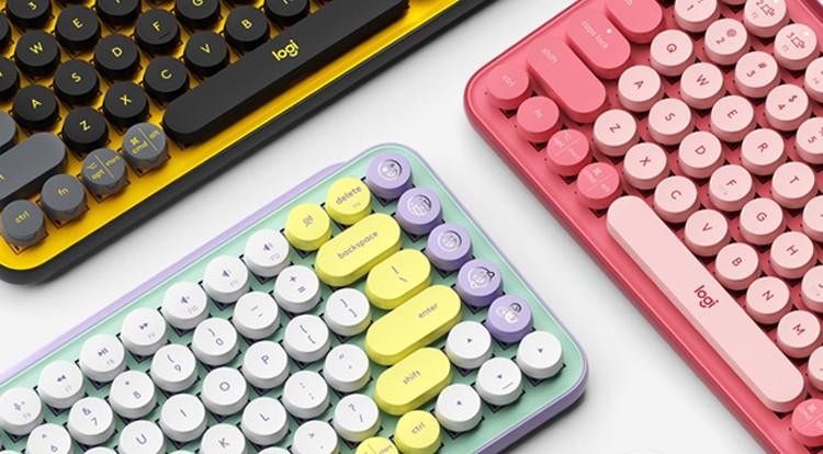 罗技POP系列泡泡键盘,活出敢性,用多彩演绎精彩