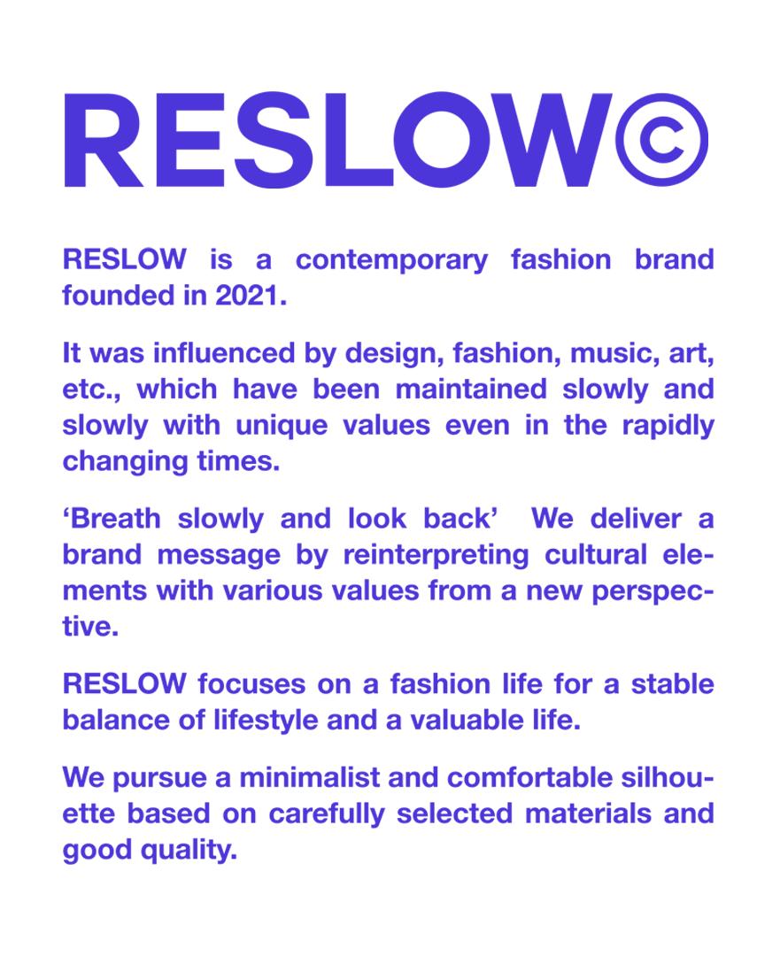 年轻艺人首选的潮流集合店——Reslow品牌商城