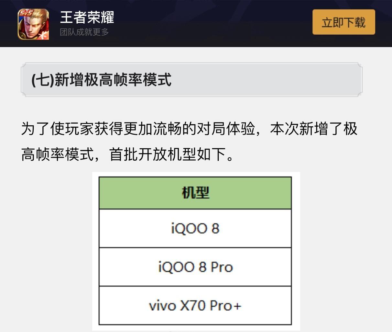 新赛季上分神器 vivo X70 Pro+首批适配《王者荣耀》120Hz极高帧率