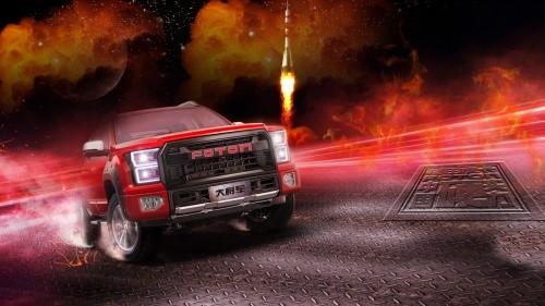 福田皮卡柴油8AT订单再破新高 盘点国产浪潮下的最强皮卡厂商
