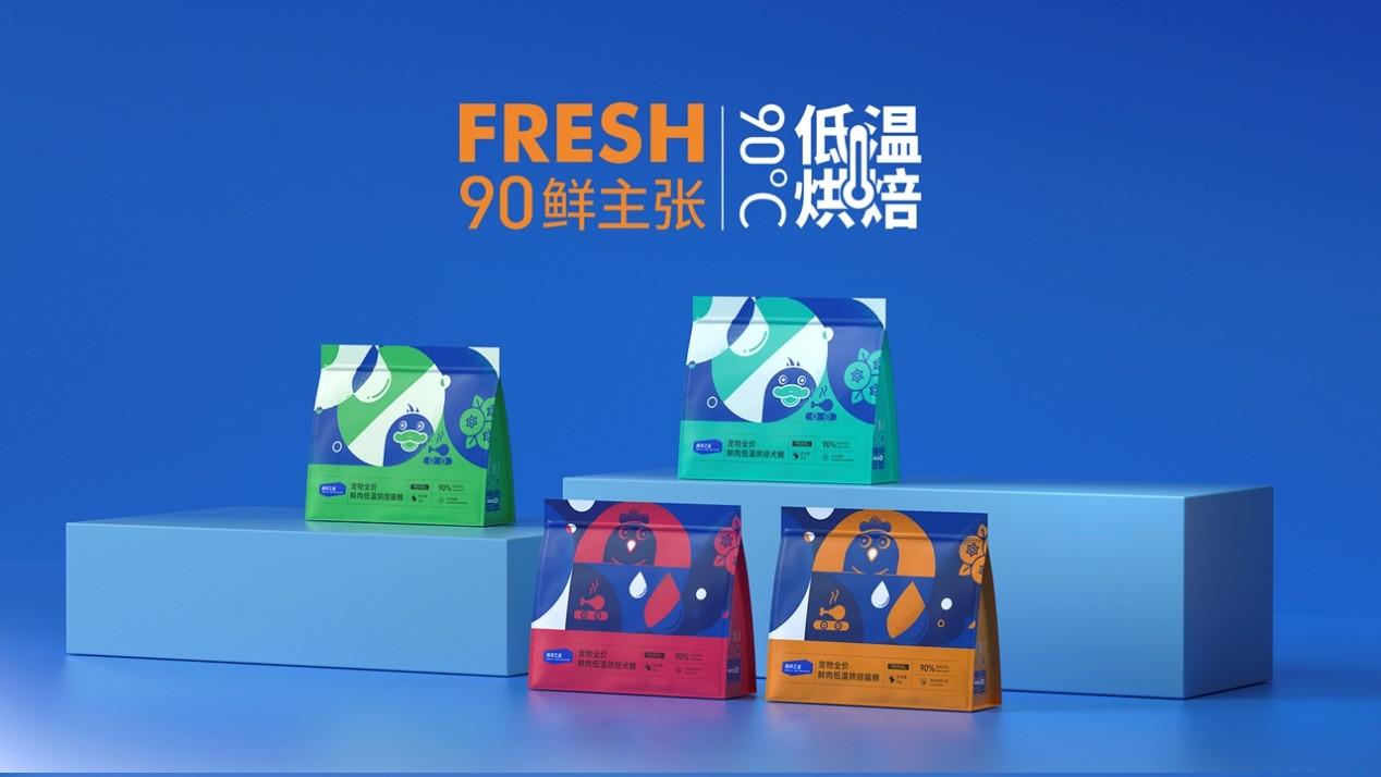 """Fresh90鲜主张:海洋之星一款自带""""鲜""""气的低温烘焙粮"""