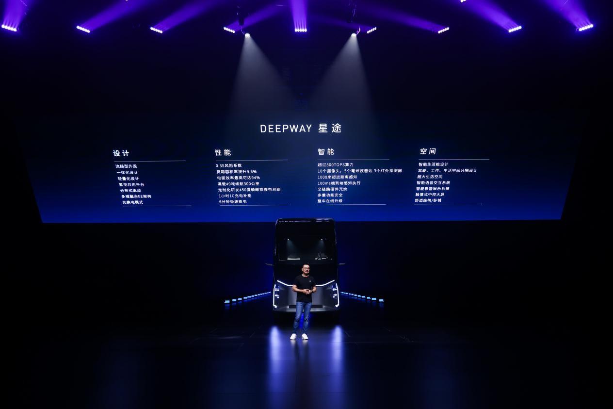 发布汽车机器人后 百度生态公司DeepWay首推智能重卡新物种