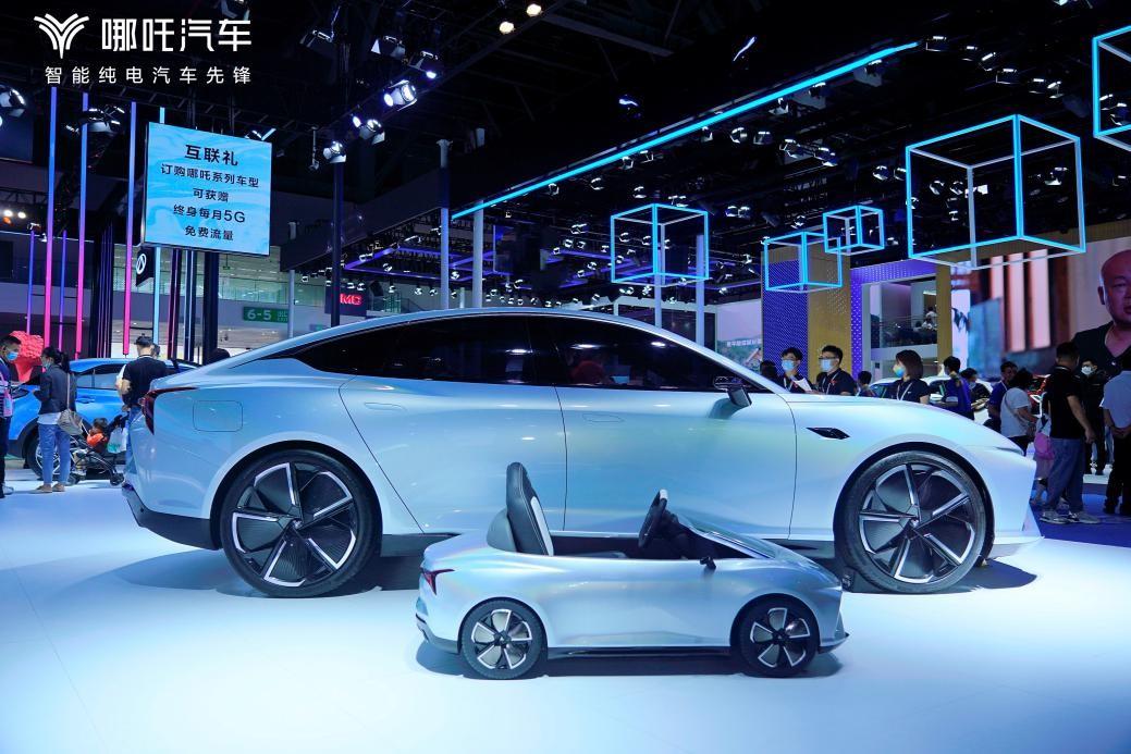 哪吒汽车设计师倾力打造,多辆优质车型亮相