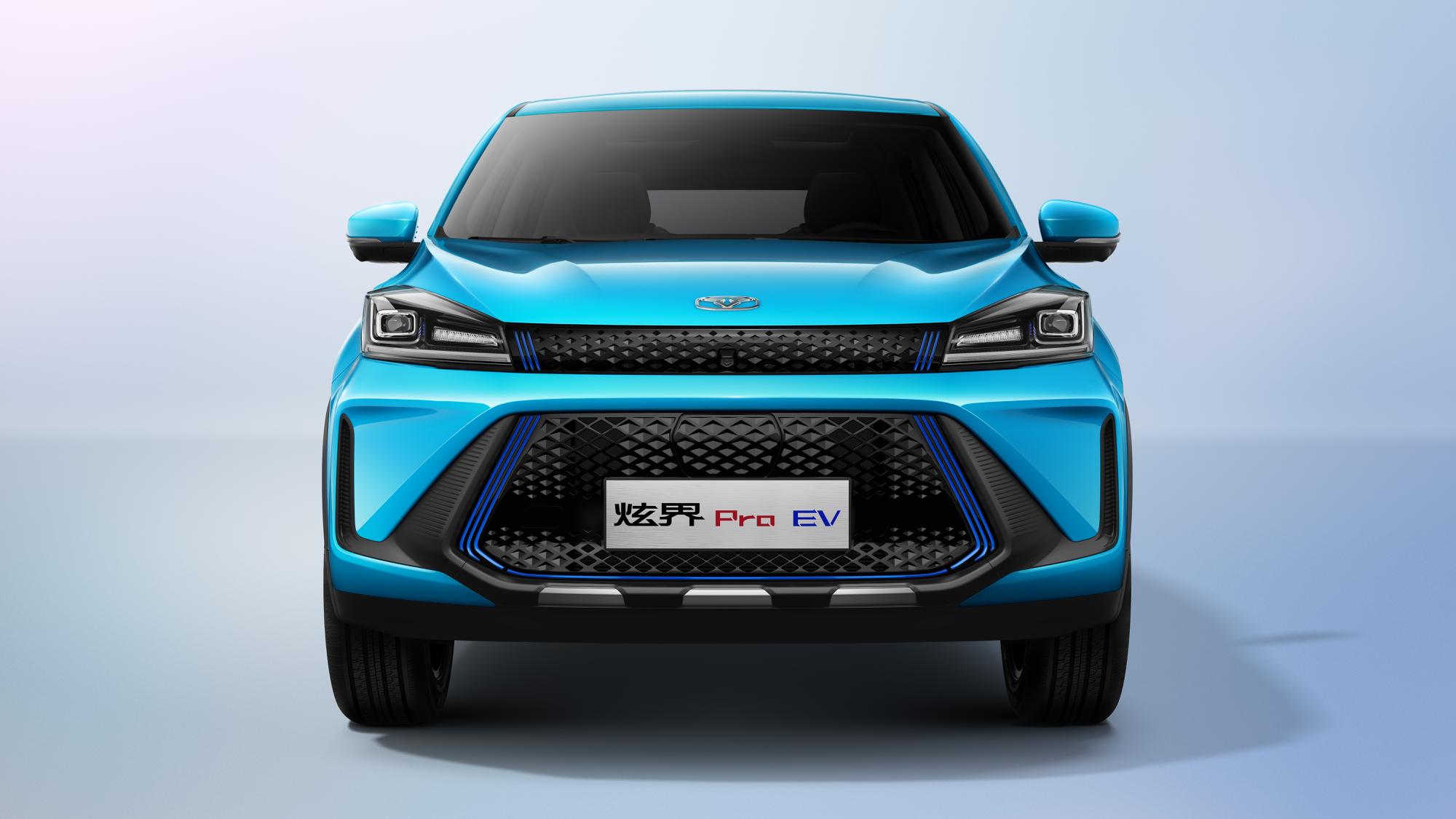 """""""智趣纯电小钢炮"""" 凯翼炫界Pro EV将于9月29日上市"""