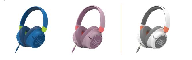 """专业呵护双耳 沉""""静""""精彩世界 JBL JR460NC头戴式无线降噪儿童耳机全新发布"""
