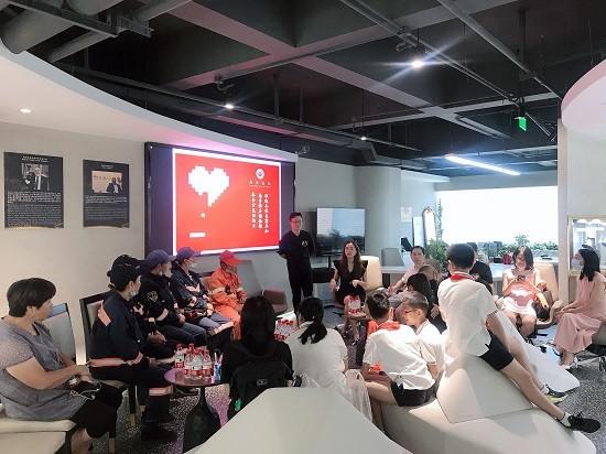 南非钻石博物馆2021年度慰问杭州环卫工人活动在杭顺利举行