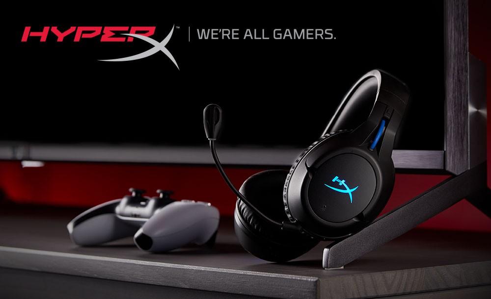 支持PS5 HyperX推出全新Cloud Flight Wireless无线游戏耳机