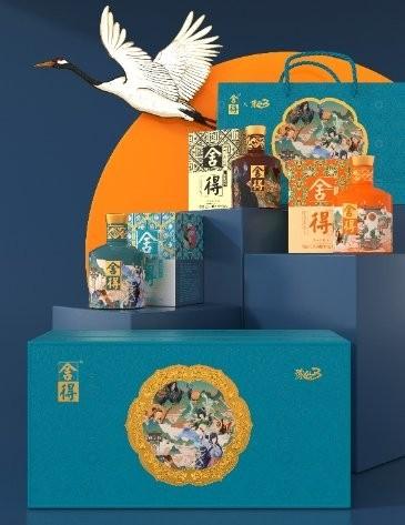 舍得x诛仙3联名礼盒,梦幻联动实现文化表达年轻化