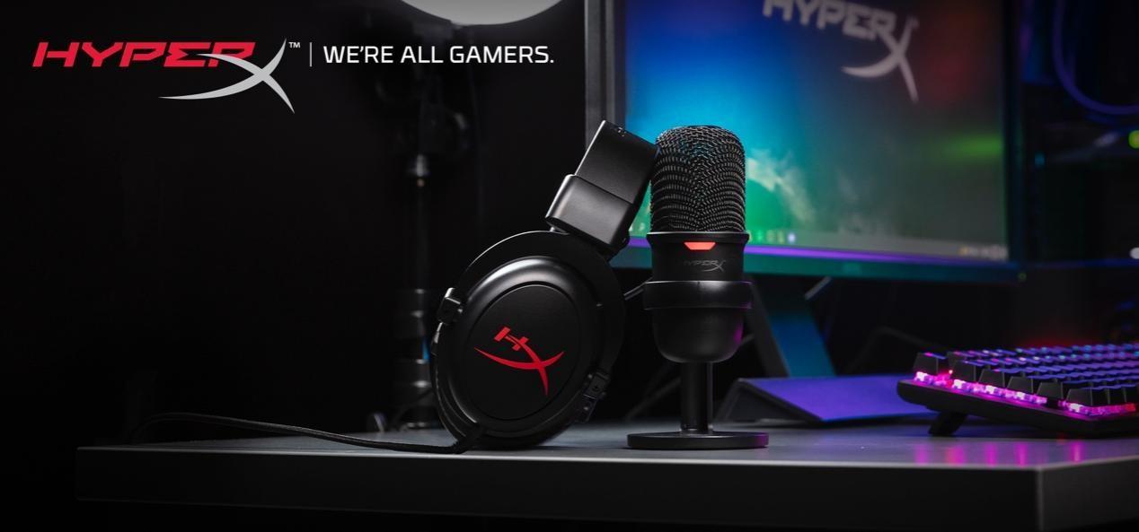 HyperX面向内容创作者和主播推出耳机麦克风套装