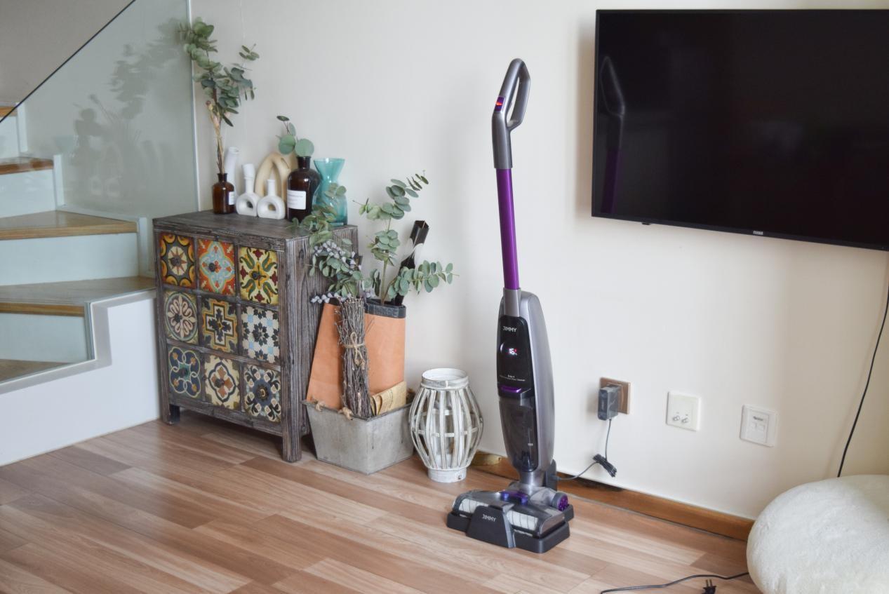 """吉米X8速干洗地机,我的超级""""武器"""",居家清洁信手拈来"""