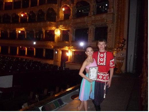 芭蕾女神刘晓茜和她的芭蕾世界