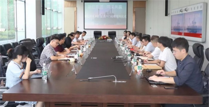 高质高效!新虹桥采购联盟签约仪式在弘阳总部举行